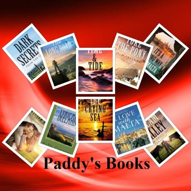 Paddy's Books Collage