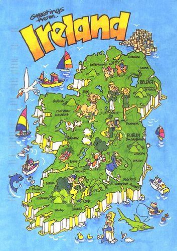 Ireland map 2
