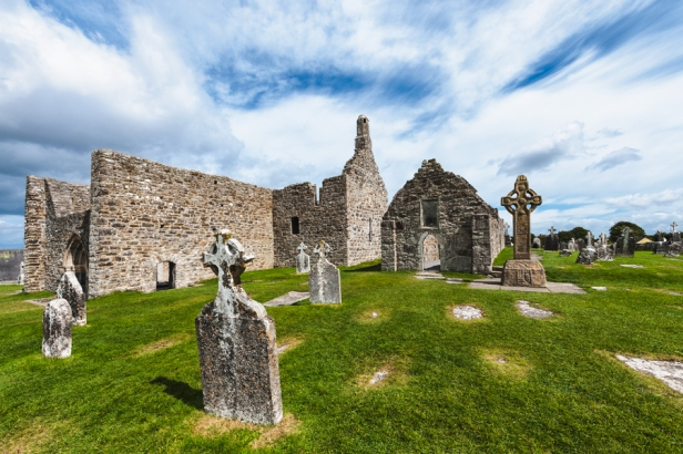 Klosteranlage Clonmacnoise, Co. Offaly, Iralnd