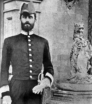 Roger Casement In British Ceremonial Uniform Circa 1900 - 1910